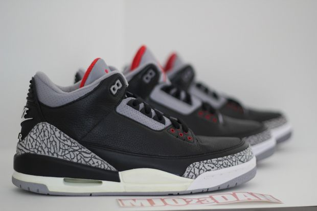 Air Jordan Black Cement 3 Comparison (12)