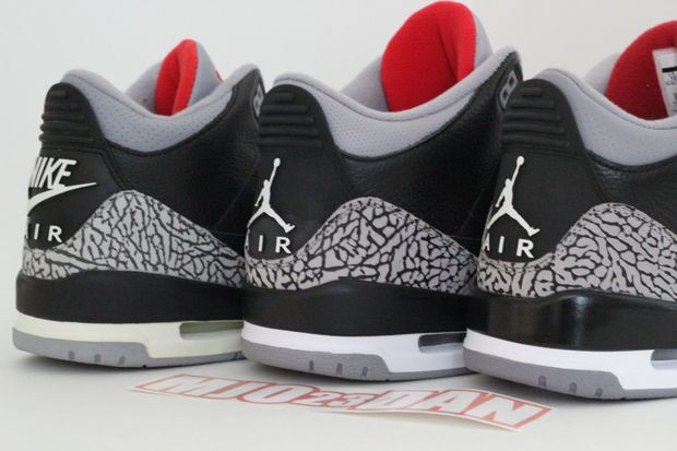 Air Jordan Black Cement 3 Comparison (5)