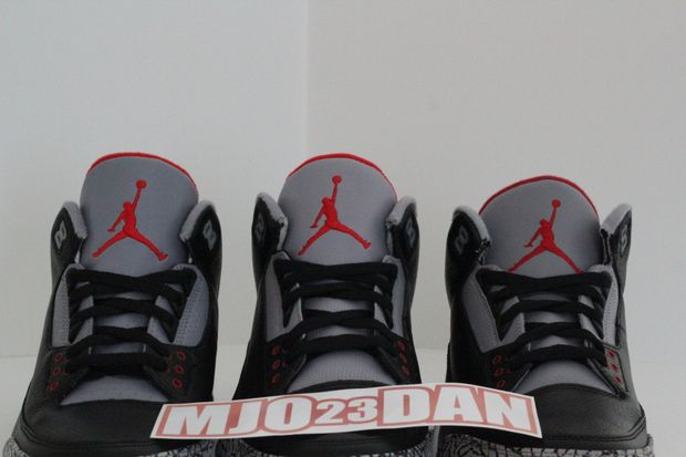 Air Jordan Black Cement 3 Comparison (2)