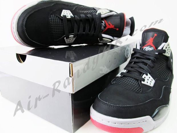 Air Jordan IV Black / Cement (9)