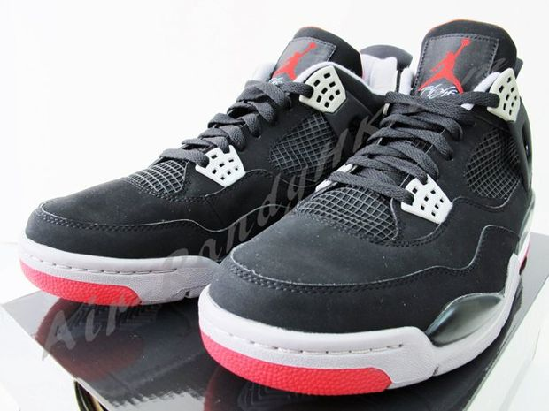 Air Jordan IV Black / Cement (8)