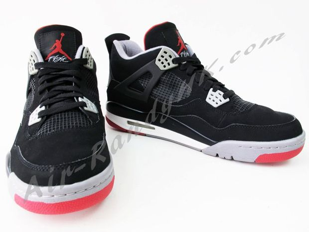 Air Jordan IV Black / Cement (7)