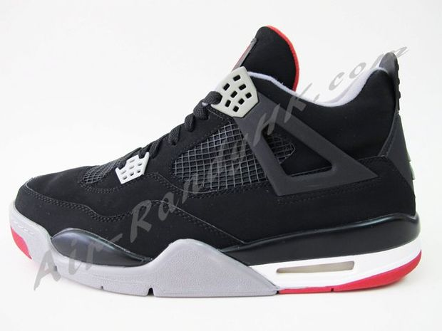 Air Jordan IV Black / Cement (6)