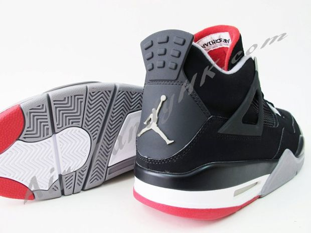 Air Jordan IV Black / Cement (5)