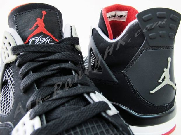 Air Jordan IV Black / Cement (4)