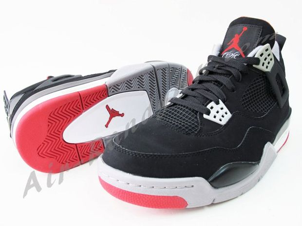 Air Jordan IV Black / Cement (2)