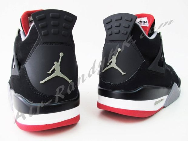 Air Jordan IV Black / Cement (1)