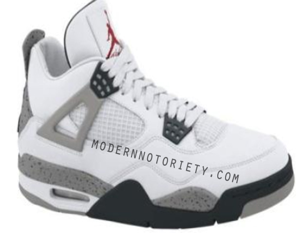 Air Jordan IV White / Cement Grey 2012 (1)