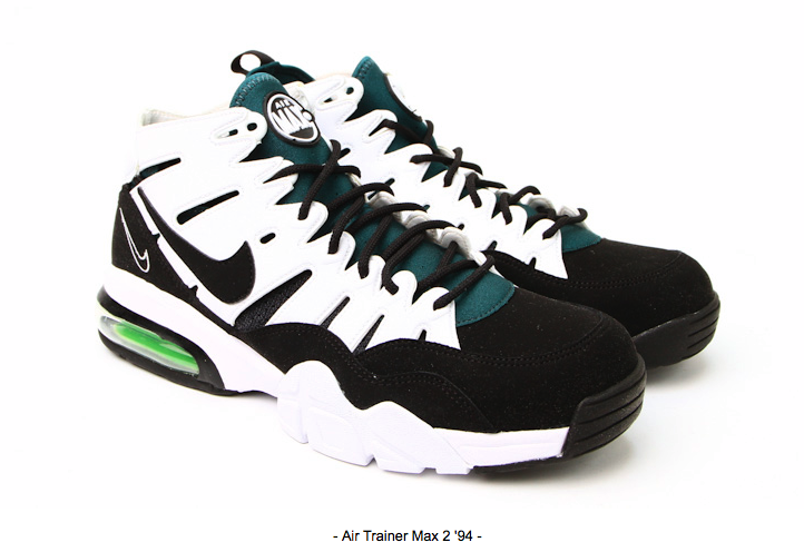 Air Trainer Max 94 White / Black - Dark Pine (2)
