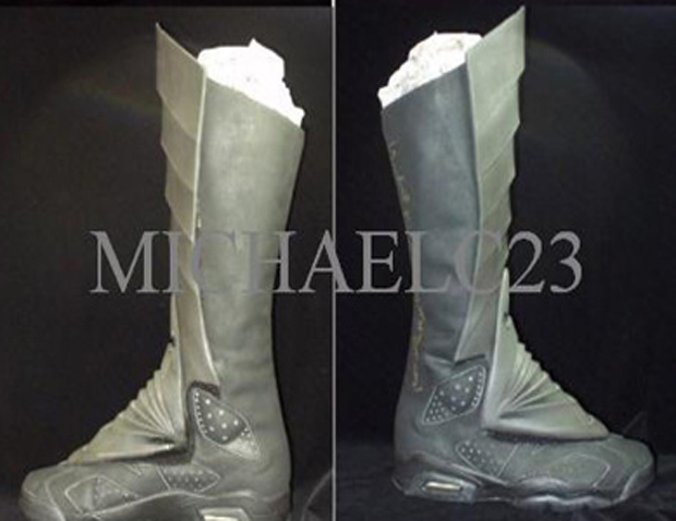 32f6dace130 Air Jordan VI Batman Boot Oscar Castillo . ...