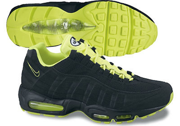 Air Max 95 Grey And Yellow