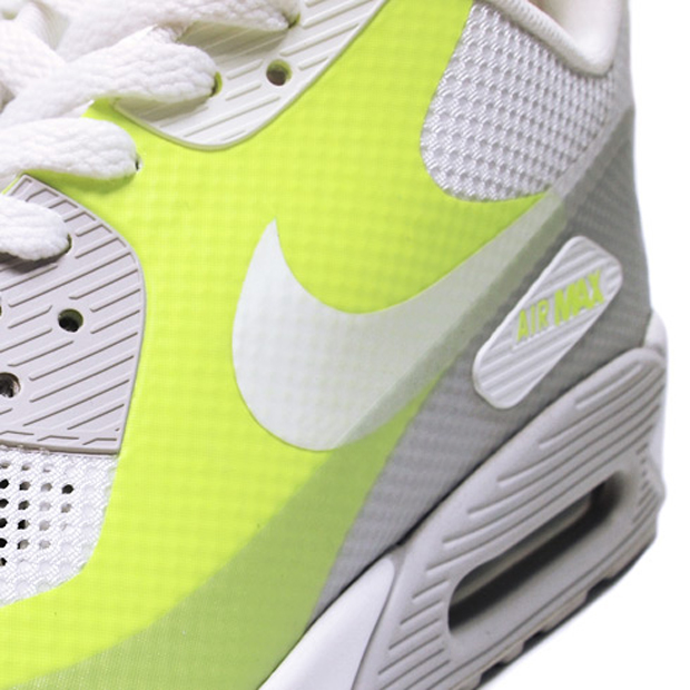 Nike Air Max 90 Hyperfuse Neutral Grey/White-Volt (3)
