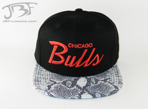 JBF Customs Chicago Bulls Strapback