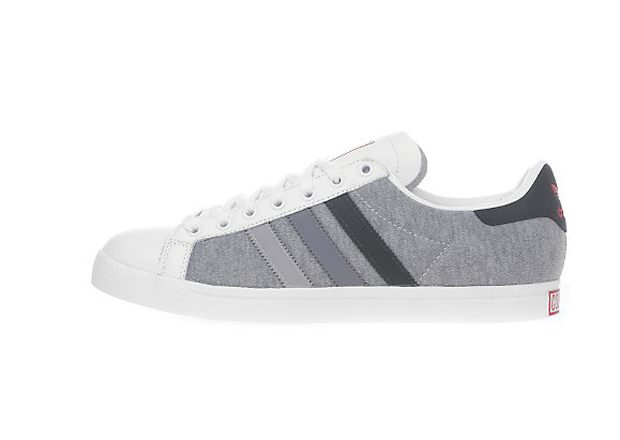finest selection 21aa0 33ae6 adidas Originals Court Star White Marl Grey-Heather (6)