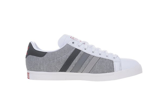 adidas Originals Court Star White/Marl Grey-Heather (4)