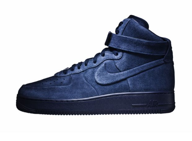 Nike Air Force 1 High Vac Tech Obsidian (2)