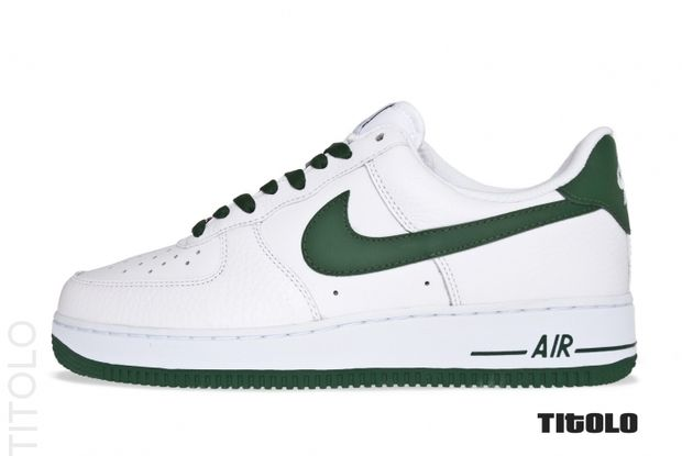 Nike Air Force 1 Low White Gorge Green (4)