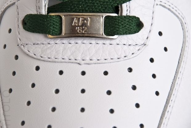 Nike Air Force 1 Low White Gorge Green (1)
