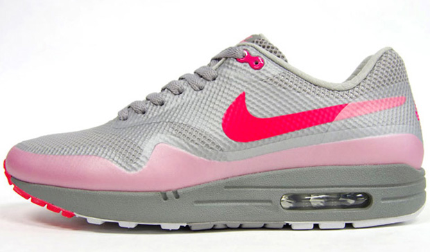 Nike Air Max 1 Hyperfuse Premium Grey/Pink (7)