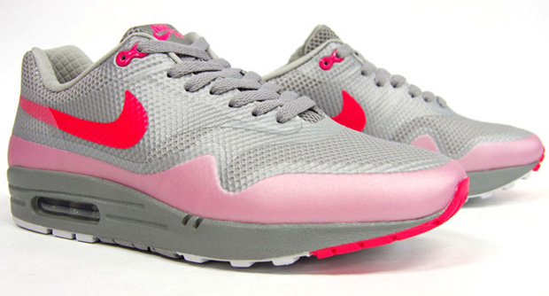 Nike Air Max 1 Hyperfuse Premium Grey/Pink (5)