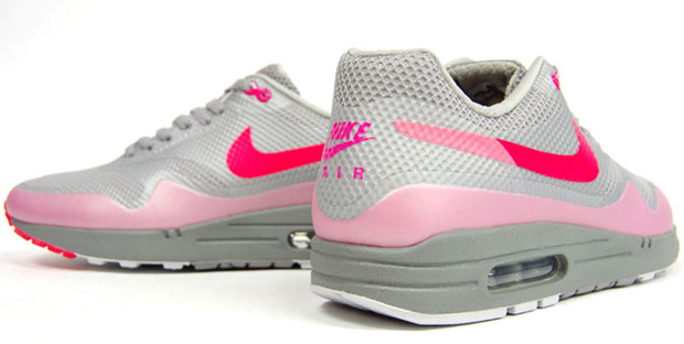 Nike Air Max 1 Hyperfuse Premium Grey/Pink (3)