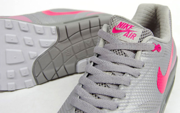 Nike Air Max 1 Hyperfuse Premium Grey/Pink (2)