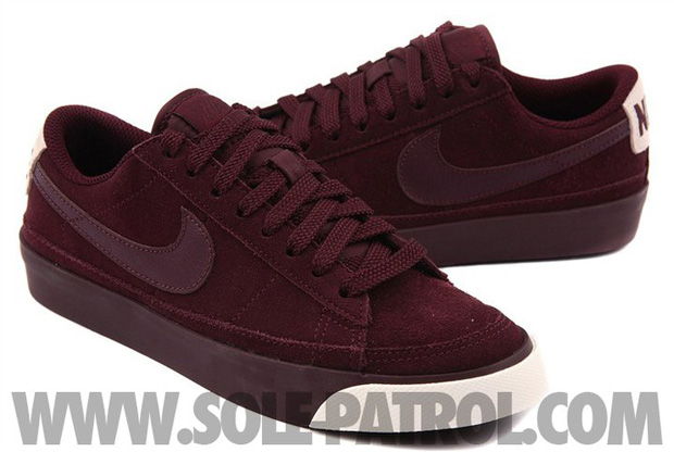 Nike Blazer Low Burgundy (7)