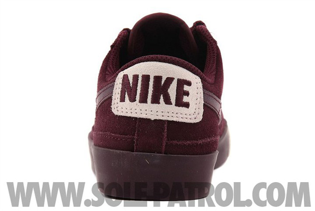 Nike Blazer Low Burgundy (5)