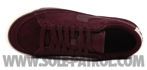 Nike Blazer Low Burgundy (4)