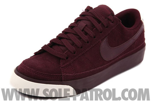 Nike Blazer Low Burgundy (3)