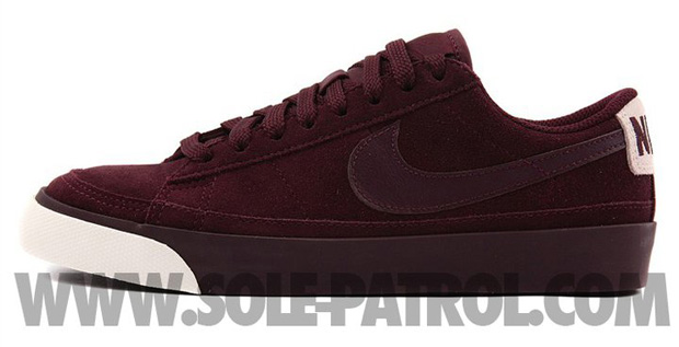 Nike Blazer Low Burgundy (1)