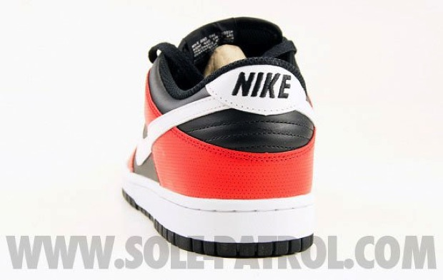 Nike Dunk Low Black/Red (4)