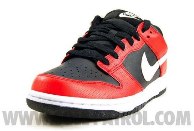 Nike Dunk Low Black/Red (3)