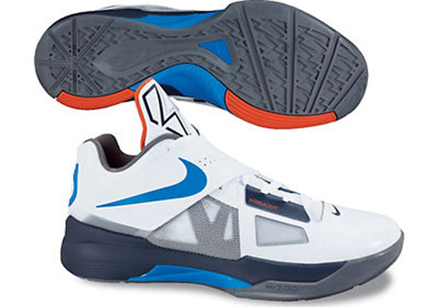 Nike Zoom KD IV On Foot (1)