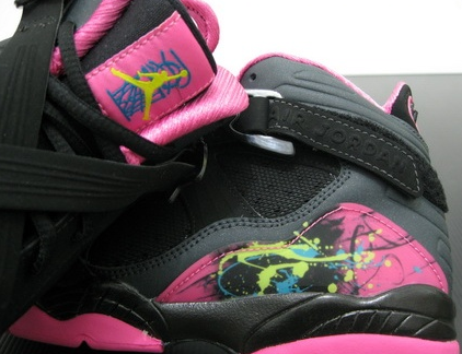 air-jordan-8.0-GS Black / Hot Pink (1)