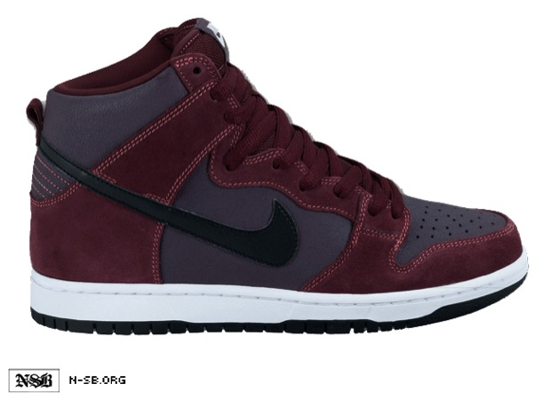 Nike SB Dunk High Deep Burgundy/Black (2)
