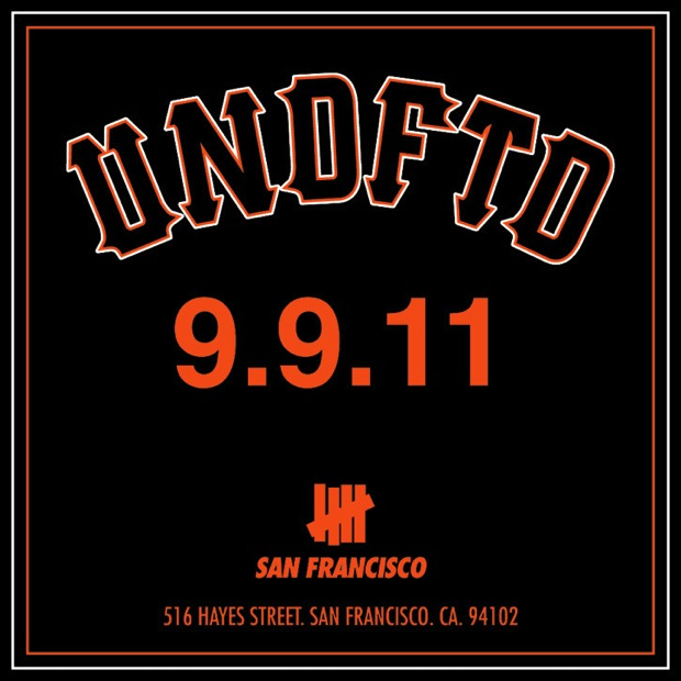 UNDFTD SF Opening