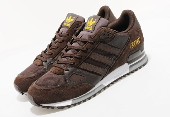 adidas zx750 brown