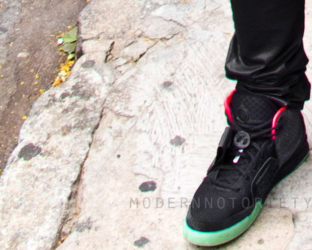 Nike Air Yeezy 2 Black / Pink Spotted In Brazil