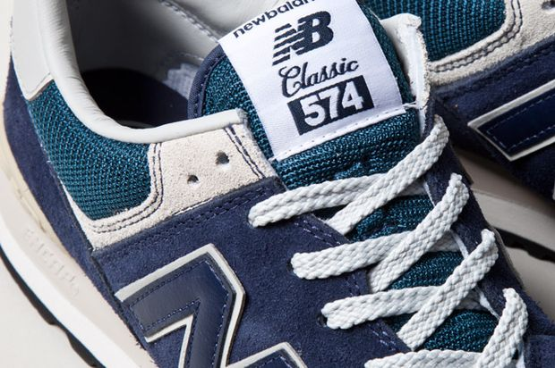 New Balance 574 Klassiske Marineblå 7oZQg3Tv3s