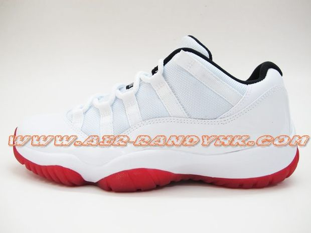 air-jordan-11-low-white-varsity-red-black (4)