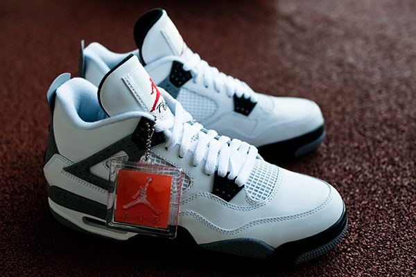0d5e1cdcf137 Air Jordan 4 Retro White   Cement Available Early