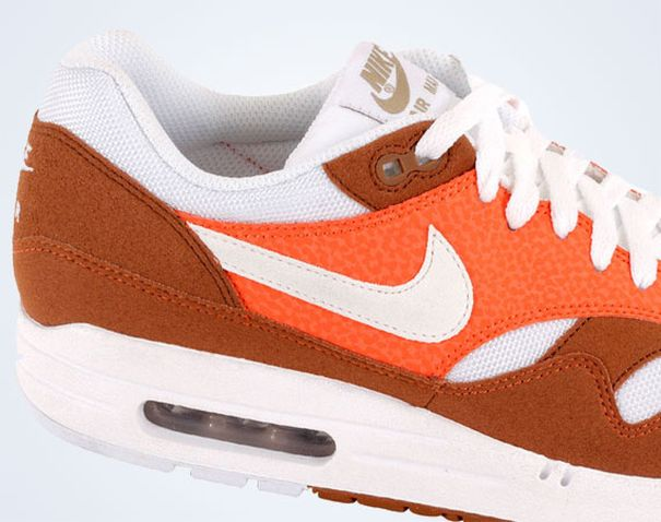outlet on sale website for discount detailed look Nike Air Max 1 - Brown - Orange - White