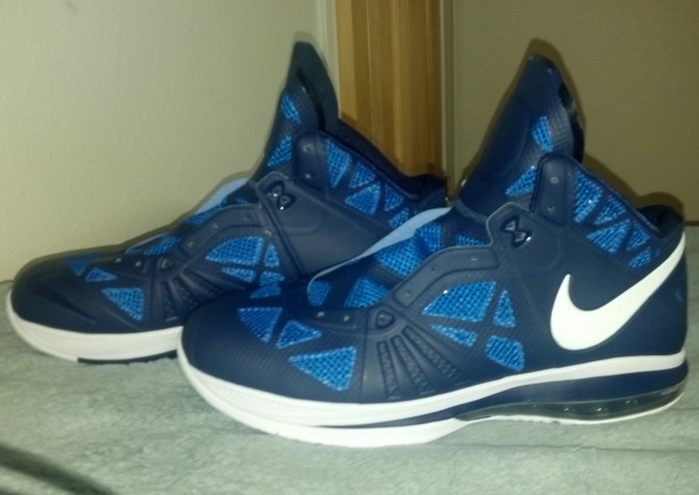 Nike Lebron 8 PS Navy / White Sample