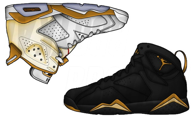 air-jordan-gold-6-7medal-pack
