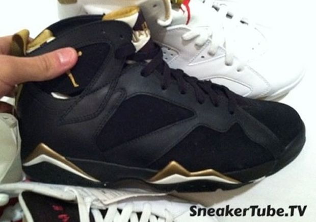 "2012 Air Jordan Retro 6 7 ""Gold Medal""Pack-First Images « The Closet ... 1ea27aa2fa0d"