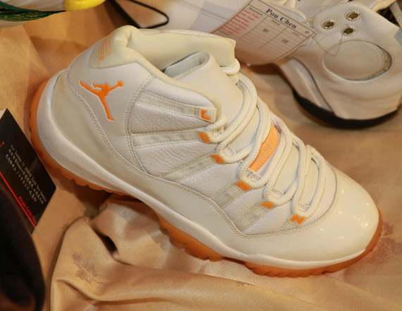 reputable site f8b1a 895a9 ... spain air jordan 11 citrus sample 04ab8 023b6