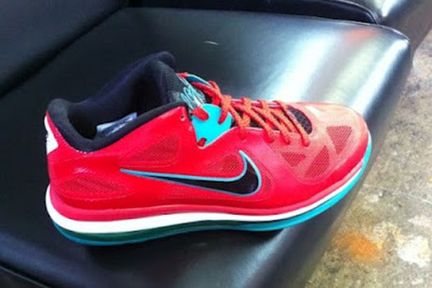 2012 nike lebron 9 low �solar red� 171 the closet collectors
