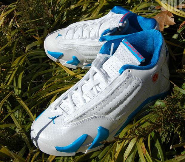 with the jordan 14 retros coming to a end soon one more gs color pops up. this color reminds us of t