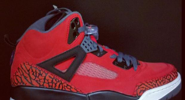 air jordan spizike red black fall 2012